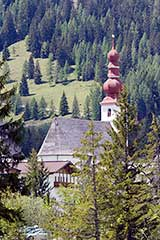 Church in Pillersee, Tyrol, Austria