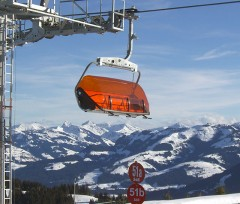 Brand new chairlift