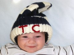 Noah in the TC hat