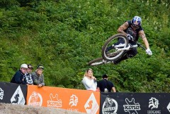 Just the practise jumps!