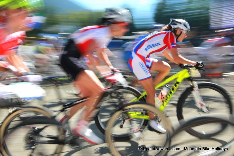 Start of the UCI XCO Womens World Championships