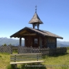 Small wooden chapel in Westendorf Tirol Austria