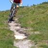 Sunshine and mountain biking